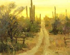 Landscape Painting - George Strickland