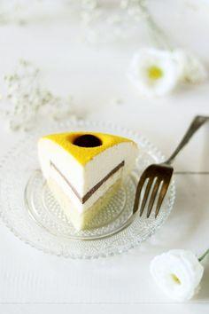 Torta Luna al limone, zenzero e cioccolato
