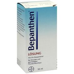 BEPANTHEN Lösung:   Packungsinhalt: 50 ml Lösung PZN: 02180584 Hersteller: Bayer Vital GmbH Preis: 2,40 EUR inkl. 19 % MwSt. zzgl.…