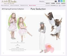 la belle Etude 2015 Spring Collection