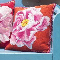 Coral Peony - Ehrman Tapestry