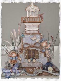 Sandra's Scrapshop: Vuurtoren / Lighthouse Freebie CLOSED!