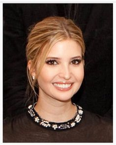Ivanka Trump at Seeds of Peace in 2009 . . .