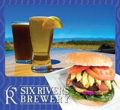 Six Rivers Brewery- brew with a view! Great spot to sit at the bar and watch the sun set over the Mad River and ocean!