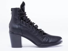 I Desire The Things That Will Destroy Me Morningside in Black at Solestruck.com #solestruck #boots #booties