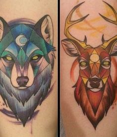15 Best Geometric Animal Tattoo
