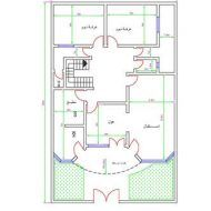 اجمل خرائط منازل Model House Plan, House Plans, House Floor Design, Iron Gate Design, House Map, Facade, Architecture Design, Floor Plans, Diagram