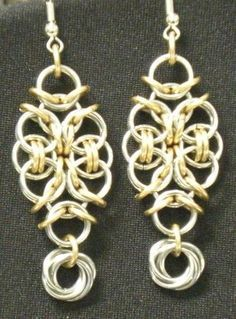 Helm Aura - Free chain maille jewelry designs - you can create beautiful jewelry.