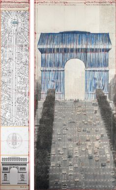 Official website of artists Christo and Jeanne-Claude. Features photographs and texts about completed projects and works in progress. Includes biographical and bibliographical information as well as virtual tours, videos and news. Christo Art, Christo And Jeanne Claude, Wax Crayons, Triomphe, Create Words, Enamel Paint, 2017 Photos, Photomontage, Virtual Tour