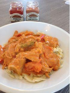 Recept voor kippengyros met griekse orzo pasta, gerookte paprika en kipkruiden. Koop de kruiden en specerijen online bij www.theflavorshop.be
