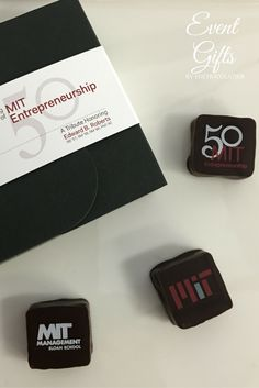 We worked with MIT to create this gift for attendees of an event.