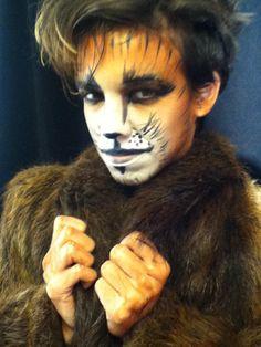 artistic makeup, feline subject maquillaje artistico, tema felino. makeup aldana gilardi