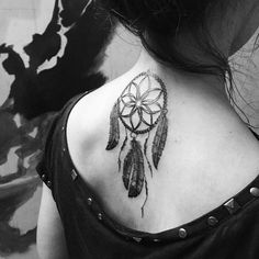 cool Top 100 dream catcher tattoos - http://4develop.com.ua/top-100-dream-catcher-tattoos/ Check more at http://4develop.com.ua/top-100-dream-catcher-tattoos/