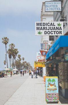 Venice Beach, California. yes please.