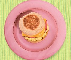 Low-Cal Breakfast: Mighty Morning Sandwich #Under350Cals #SelfMagazine