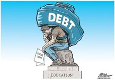 Today's Student Debt Means A $4 Trillion Loss Of Wealth In The Future  Check out http://thinkprogress.org/economy/2013/08/01/2399761/student-loan-debt-loss-wealth/