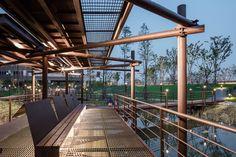 杨浦滨江公共空间示范段 / 原作设计工作室 - 谷德设计网