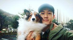 Lee Ki Woo Lee Ki Woo, Korean Actors, Dramas, Corgi, Animals, Corgis, Animales, Animaux, Animal