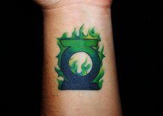 Green Lantern Tattoo logo by ~Goldenwit305 on deviantART