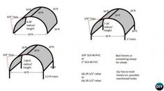 DIY Outdoor Suntracking PVC Canopy Diagram