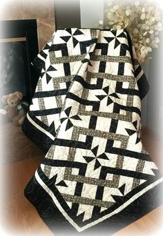 #451 Simply Stunning Quilt Pattern - Digital Download