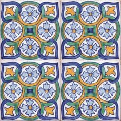 Italian Decorative Tiles Italian Tile Pendant Bohemian Necklace Mustardshrunkencatheads