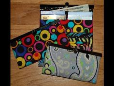 The Quick Clutch and Small Clutch Wallet Template | Pam Damour