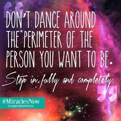 Step in fully