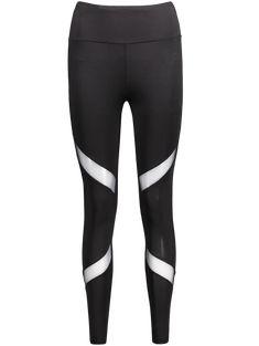 5ce36ec5413cc Quick-drying Net Yarn Yoga Pants Black High Waist Elastic Running Fitness  Slim Sport Pants Gym Leggings for Women Trousers