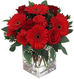 valentine floral arrangements | Canada Flowers > Valentine's Flowers > 2013 Valentine's Bouquet #40