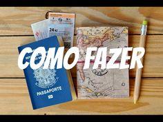 Como fazer capa para traveler's notebook com material barato
