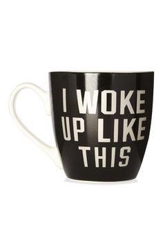 Primark - Taza de cerámica I Woke Up Like This