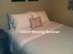 2 Ladies & a Hammer ~ Cariloha Bamboo ~ Bamboo Sheets {Review & Giveaway ~ US only}