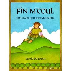 Fin M'Coul The Giant of Knockmany Hill by Tomie de Paola. This book is a Traditional Literature Folktale book from a different country. This book is a wonderful book from Ireland about Giants! It teaches wit and intimidation! This is a very neat book!