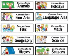 FREE Thematic Lapbooks, File Folder Games, and Printable Packs