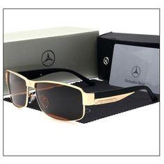 Mercedes New Design Sunglasses Types Of Sunglasses, Sunglasses Store, Stylish Sunglasses, Uv400 Sunglasses, Polarized Sunglasses, Mercedes Benz, Lunette Style, Zara, Mens Glasses