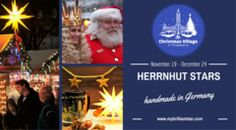 We are thrilled to celebrate this experience in Philadelphia! 'Tis (almost) the season for us to head over to Philadelphia and join our booth at the Christmas Village in Philadelphia. See our complete assortment of Herrnhut Star products in our webshop. We will see you there!   - MyBrilliantStar #mybrilliantstar #herrnhutstar #moravianstar #decoration #gifts