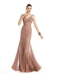 Pronovias presents the Tasarte cocktail dress from the Cocktail 2014 collection.   Pronovias