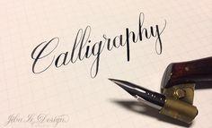 【Jibu Le Design】一枝筆桿,一個筆尖,一起進入西洋書法的美麗世界 | FLiPER MAG