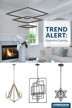 Update any space in your home with an on-trend lighting fixture. Right now, it's all about bold, geometric shapes. Get inspired with a visit to your local Ferguson Bath, Kitchen & Lighting Gallery where you'll find a variety of fixtures that incorporate circles, orbs, squares and rectangles. One of our product experts can help you make your selection and guide you on how to work it into your home.