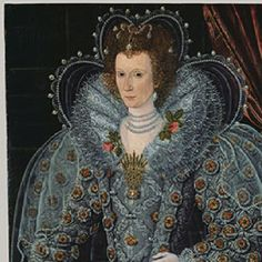 Portrait of a Noblewoman--artist unknown