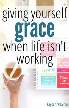 We can plan, set goals, and check off all the boxes all day long. But what happens when the plan doesn't actually happen? What do we do when life isn't working?