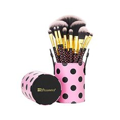 BH Cosmetics Pink-a-Dot Brush Set * See this great product.