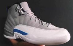 c74fa7742e5b31 New Images of the Air Jordan 12 - Grey University Blue Air Jordan Xii