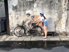 Georgetown es la ciudad más importante de la isla de Penang, Malasia, y es muy conocida por su arte urbano. ¡Descubre qué ver en Penang!