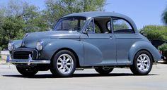 1957 Morris Minor Retro Cars, Vintage Cars, Antique Cars, Vintage Items, Austin Cars, Automobile, Luxury Rv, Morris Minor, Smart Car