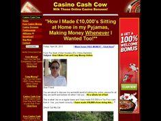 Make Money Online (Free Cash) With Casino Cash Cow | See more about make money online, make money and cows.