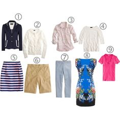 """Use 9 Items to Create 42 Outfits"" by kimkperez on Polyvore"