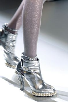 Chanel wedding booties...so wearable after the event!