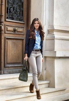 #Office #Clothes Beautiful Casual Style Ideas